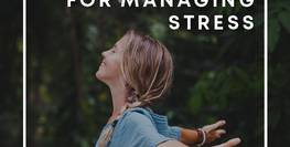 Y Wellbeing - Resources for Managing Stress