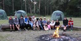 Camping at Deeimba