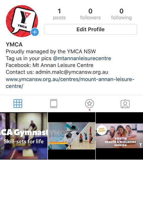 Mt Annan Leisure Centre get Instagram!