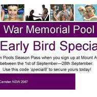 Last week to secure your super early bird special!