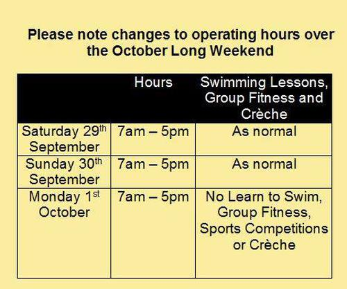 Long Weekend Trading Hours