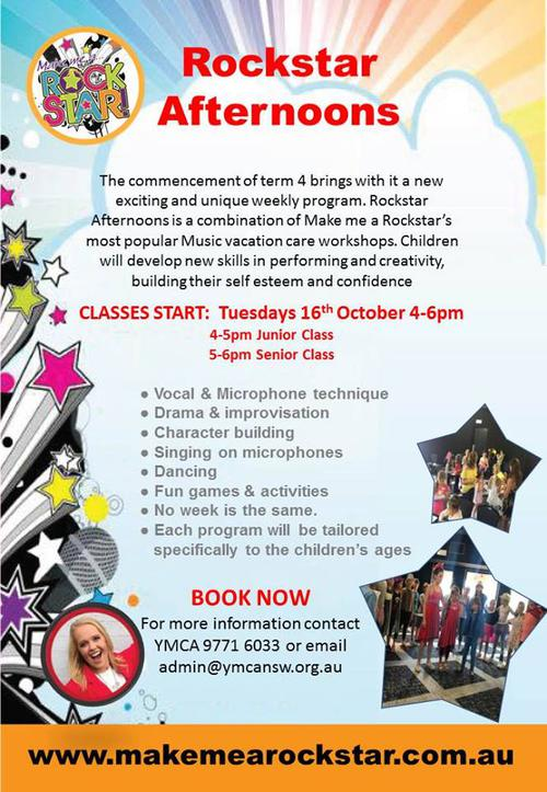 Rockstar Classes! | YMCA Bankstown City