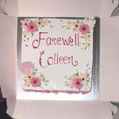Today Mount Annan Leisure Centre bids farewell to our wonderful Colleen.