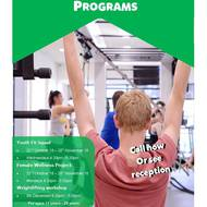 New youth programs launching next week!