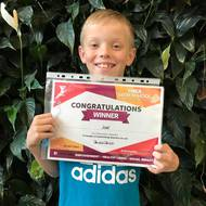 Congratulations to Joel our lucky Future Champions Winner!