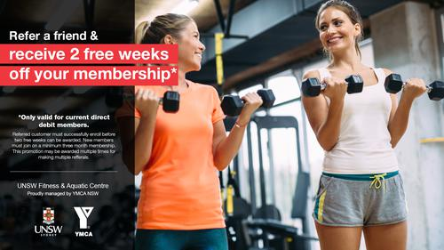 Refer a Friend - Fitness Special Offer