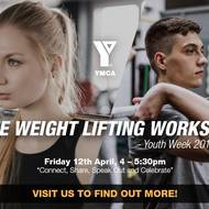 Youth Week 2019 - FREE Weightlifting Workshop!