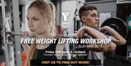 Youth Week 2019 - FREE Weightlifting Workshop!