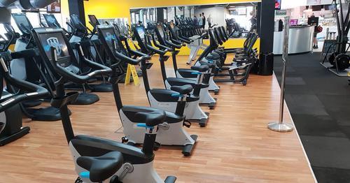 Urgent lighting upgrades to Fitness Cente