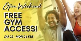 Open Weekend - Free Gym Access