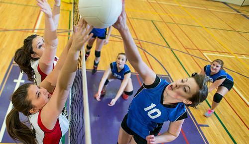 Social volleyball night