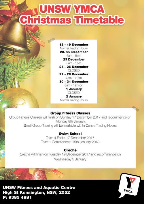 Christmas Trading Hours 2017-18