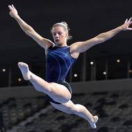 Local gymnast Emma Nedov representing Australia at World Championship in China