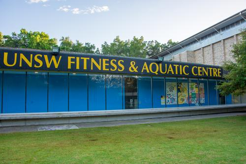 Upcoming UNSW Campus Beautification works and there impact on access to UNSW Fitness & Aquatic Centre