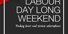 Labour Day Long Weekend
