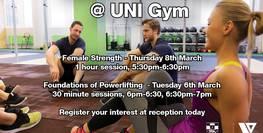 UNSW Fitness Workshop