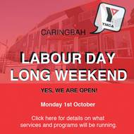 Labour Day Public Holiday  - October 1st