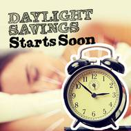 Daylight savings starts soon
