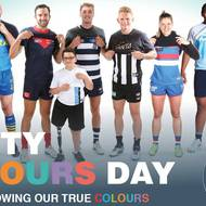 Footy Colours Day at YMCA Caringbah