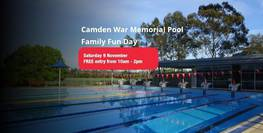 Camden War Memorial Pool Family Fun Day