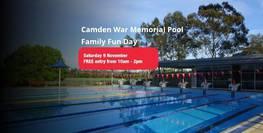Camden War Memorial Pool Family Fun Day