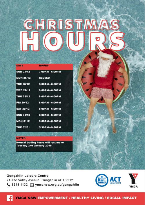 Holiday Opening Hours
