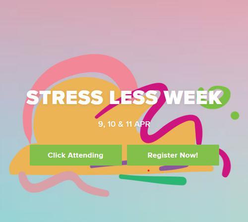 Stress Less Week 2019
