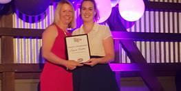YMCA NSW celebrates latest young team member's award