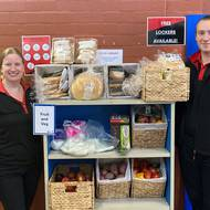 New community pantry launched at Y Lakeside Leisure Centre