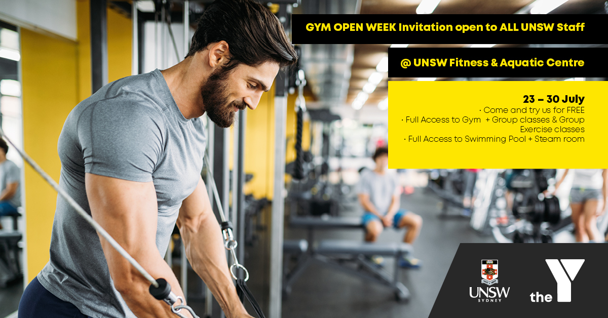 UNSW Staff Invitation to Centre OPEN DAY