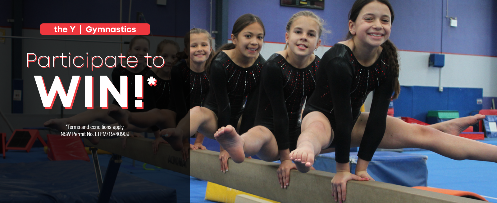Participate to Win with Gymnastics!