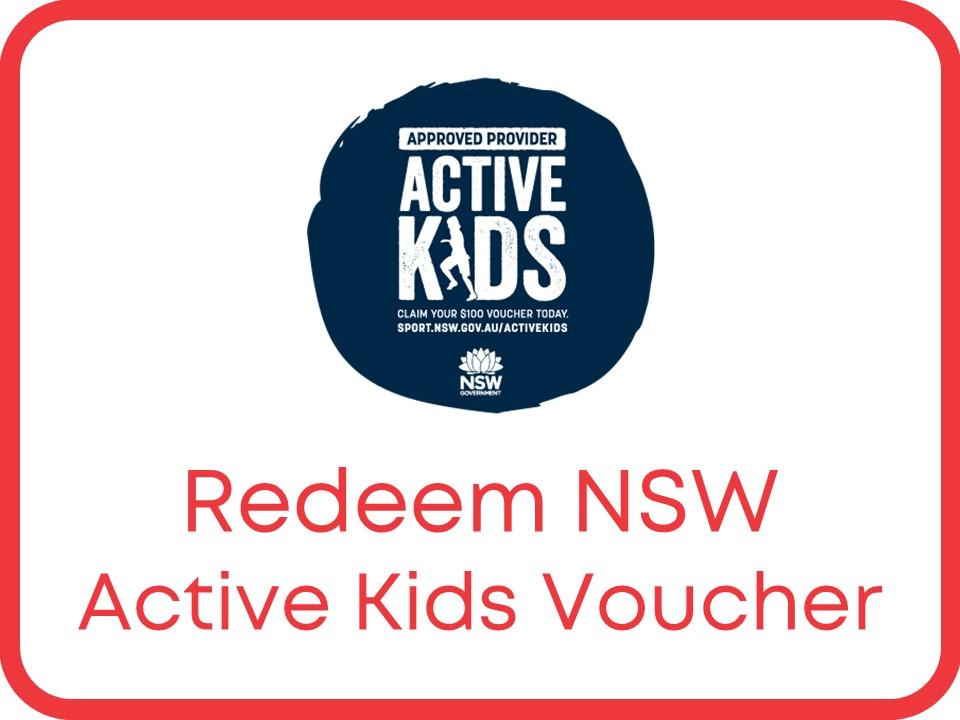 redeem active kids voucher