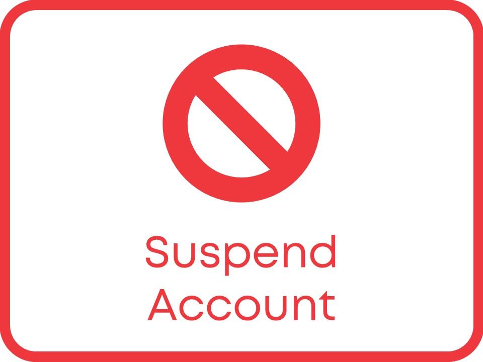 membership suspension